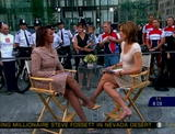 Hannah Storm, Maggie Rodrigue, Joie Chen - CBS Early Show - Leggy x 3 - VideoClip