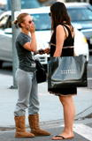 Hayden Panettiere wearing a shirt which reads Vampires Everywhere out and about in Los Angeles - Hot Celebs Home