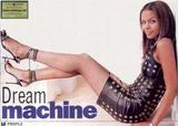 samantha mumba black mini dress