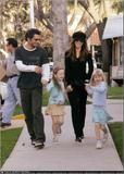 Kate Beckinsale & family have fun at the playground in Malib