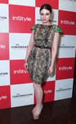 Michelle Trachtenberg - The Conversation with Amanda De Cadenet launch 04/17/12