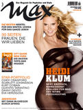 Heidi Klum Naked In Max Magazine pictures