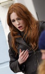 Карен Гиллан, фото 132. Karen Gillan - On The Set Of Doctor Who In Cardiff - 4/5/12, foto 132