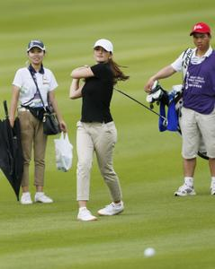 Minka Kelly - Mission Hills World Celebrity Pro-Am golf tournament in China; October 20, 2012