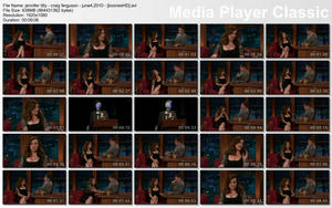 "JENNIFER TILLY - ""Late Late Show with Craig Ferguson"" - (June 4, 2010) - [HD, 1080]"