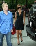 Victoria Beckham leaving her hotel in midtown Manhattan, June 4